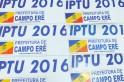 Carnês do IPTU 2016 já estão disponíveis