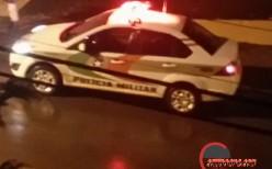 Folgado – De carro homem pratica furto, mas é preso pela policia