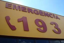 Bombeiros percorrem 24 km para atender vitima de queda de moto no interior