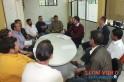 Reunião foi realizada no Cartório eleitoral. Foto: wwww.campoere.com