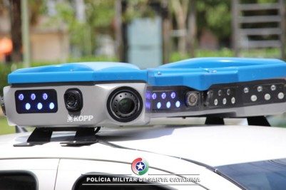 Empresa apresenta equipamento de monitoramento com câmeras OCR à PMSC