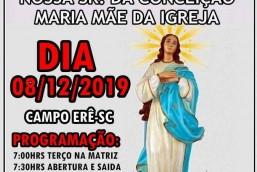 47ª Romaria Imaculada Conceição