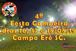 4ª Festa Campeira de Campo Erê