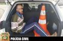 Filho e comparsa acusados de assaltar o próprio pai são presos pela policia