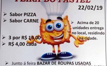 Apae promove mais um feira do pastel