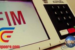 Hoje tem entrevista na CRNC TV sobre o 2º turno das eleições