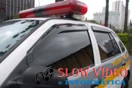 Homem denuncia vizinhos por agressão depois de pedir para não mexer em carro acidentado