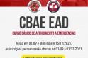 Abertas vagas para o curso do CBAE - Curso Básico de Atendimento a Emergências